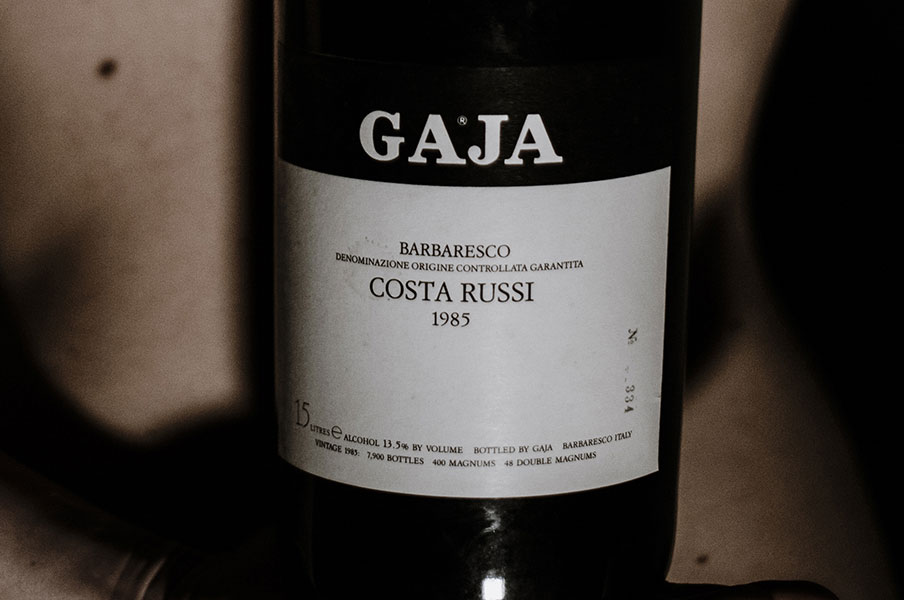 Barbaresco  Gaja 	Costa Russi 1985